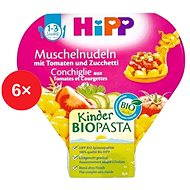 HiPP BIO Cestoviny s paradajkami a cuketou - 6x 250g