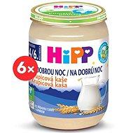 HiPP BIO Kaša na dobrú noc krupicová - 6x 190g