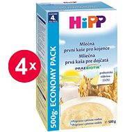HiPP Mliečna prvá kaša pre dojčatá Praebiotik - 4x 500g