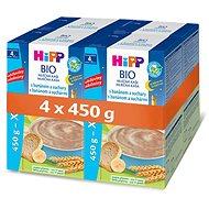 HiPP BIO Mliečna kaša na dobrú noc s banánom a sucháre - 4x 500g