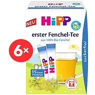 HiPP BABY Fenyklový čaj - 6x 5,4g