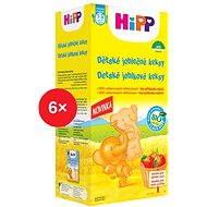 HiPP BIO Dětské jablečné keksy - 6x 150g
