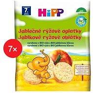 HiPP BIO Jablečné rýžové oplatky - 7× 30 g - Sušenky