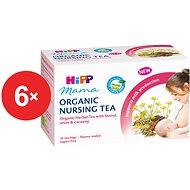 HiPP Mama BIO Čaj pre dojčiace matky - 6x 30g