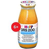HiPP ORS 200 Mrkev-rýže - 6x 200ml