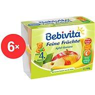 Bebivita Jablká s banánmi - 6x (4x 100g)