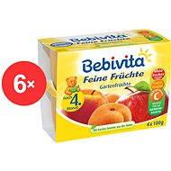 Bebivita Jemná ovocná zmes - 6x (4x 100g)