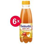 Bebivita Mrkvovo-ovocná šťava - 6x 500ml