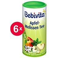 Bebivita Jablečno-meduňkový čaj - 6x 200g