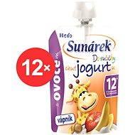Sunárek Do ručičky s ovocím a jogurtom - 12x 80g