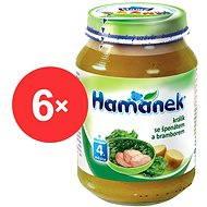 Hamánek Králik so špenátom a zemiakmi 6x 190g