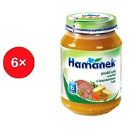 Hamánek Jahňacie soté s mrkvou a br. kašou 6x 190g
