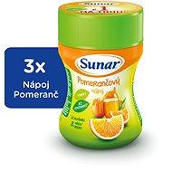Sunárek instantní nápoj pomeranč - 3x 200g