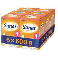Sunar Complex 1 - 6x 600g - dojčenské mlieko