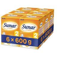 Sunar Complex 2 - 6x 600g - dojčenské mlieko
