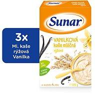 Sunárek vanilková kašička - 3× 225 g + DÁREK