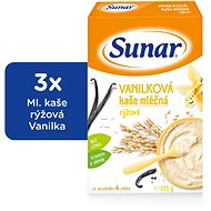 Sunarka vanilková kašička - 3x 225g + DARČEK
