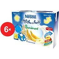 Nestlé Mliečko s kašou Banánové - 6x (2x200ml)