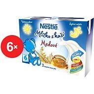 Nestlé Mliečko s kašou Medové - 6x (2x200ml)