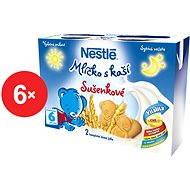 Nestlé Mliečko s kašou Sušienkové - 6x (2x200ml)