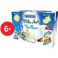 Nestlé Mliečko s kašou Vanilkové - 6x (2x200ml)