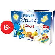 Nestlé Mliečko s kašou Ovocné - 6x (2x200ml)