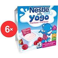 Nestlé BABY Yogo Malina - 6x (4x100g)