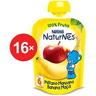 Nestlé NATURNES Banán, jablko - 16x 90g