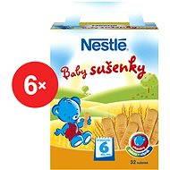 Nestlé Baby sušenky - 6x 180g