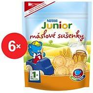 Nestlé JUNIOR Máslové sušenky 6x 180g