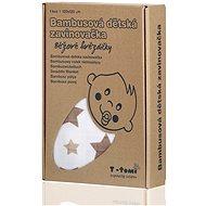 T-tomi Bamboo Wrap 1 piece - beige stars