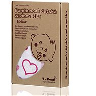 T-tomi Bamboo Wrap 1pc - hearts