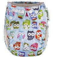 T-tomi Bambusová nohavičková plienka AlO modrá sova + 2 bambusové vkladacie plienky - Detské plienky