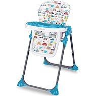 G-mini Simply, CARS, modrá - Jídelní židlička