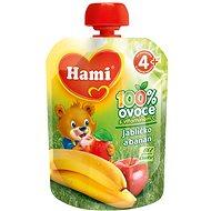 Hami Ovocná kapsička jablíčko a banán 90 g - Dětský příkrm