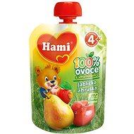 Hami Ovocná kapsička jablíčko a hruška 90 g - Dětský příkrm