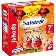 Sunárek Do ručičky jahoda - 4 × 90 g
