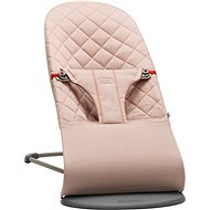 Babybjörn Bouncer Lounger BLISS Old Rose Cotton - Liege