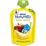 NESTLÉ kapsička Banán-Jablko 90 g - Dětský příkrm
