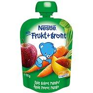 NESTLÉ kapsička Jablko-Mango-Mrkev 90 g - Dětský příkrm