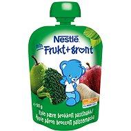 NESTLÉ kapsička Jablko-Hruška-Brokolice-Pastiňák 90 g - Dětský příkrm