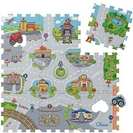 Chicco Foam Puzzle-Stadt 30 x 30 cm, 9 Stk - Puzzle