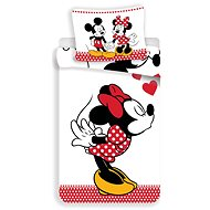Jerry Fabrics Mickey a Minnie in Love - Dětské povlečení