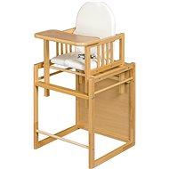 New Baby Buková židlička Victory - přírodní - Jídelní židlička