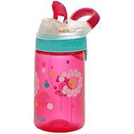 Contigo Jessie růžová s kvítky - Dětská láhev