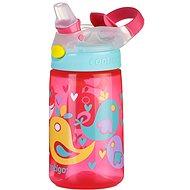 Contigo James růžová s ptáčky - Dětská láhev