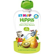 HiPP BIO 100% ovoce Hruška-Banán-Kiwi 100 g - Dětský příkrm
