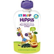 HiPP BIO 100% ovoce Hruška-Černý rybíz-Švestka 100 g