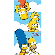Jerry Fabrics Simpsons family clouds - Osuška