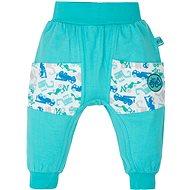 Gmini Bagr kalhoty s kapsami bez ťapek 80 - Kalhoty pro miminko